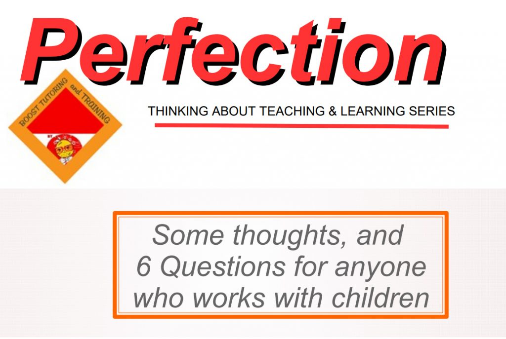 E-book Perfection workbook
